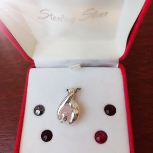 New in Box Sterling Silver Pendant